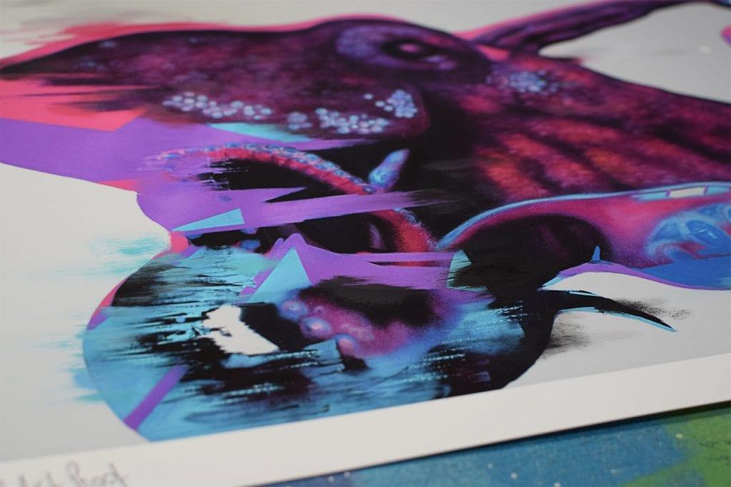 Emic Kraken Art Print