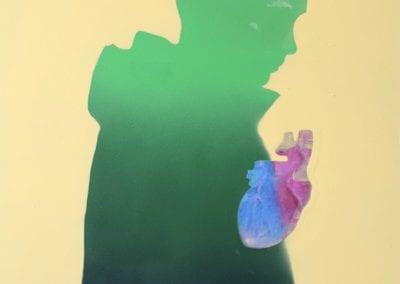 Painting - My External Heart