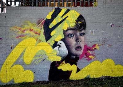 Emic Belfast street artist